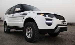В Индии клонировали Range Rover Evoque